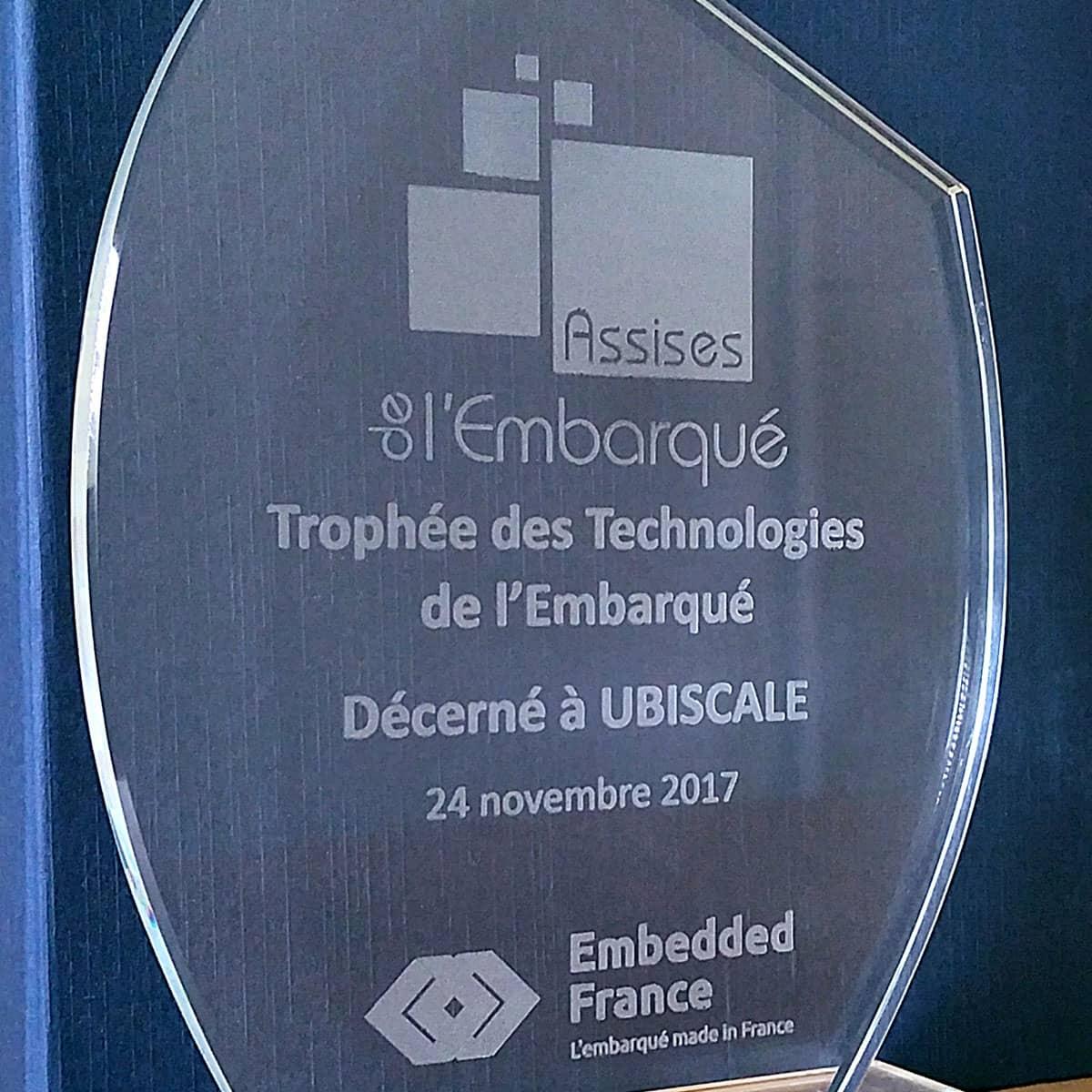 Trophée des technologies de l'Embarqué