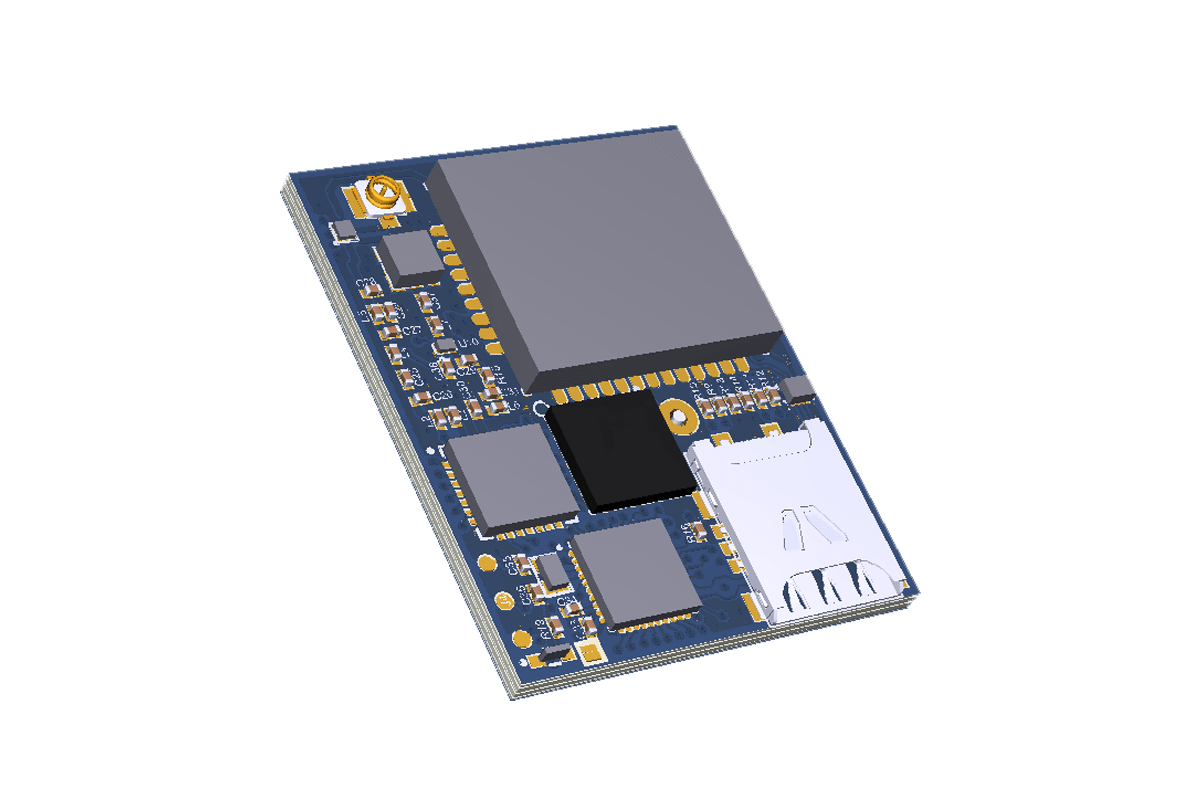 HW/SW design of a miniature 2G/LoRa tracker running on primary cell